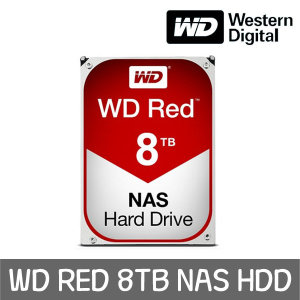 WD RED 8TB NAS HDD WD80EFZX +WD正品 공식판매점+