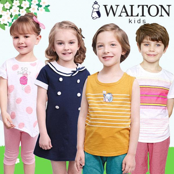 월튼/아동복/여름/신상/티셔츠/상하복/원피스