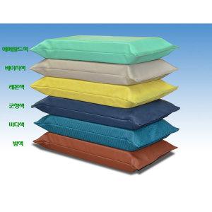 방수 베개/찜질방 병원 환자용 침대/캠핑매트 베개