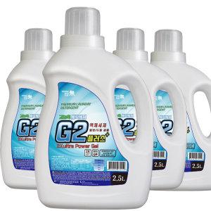 G2플러스(겸용) 2.5Lx4개/ 세탁력이 우수한 세탁세제