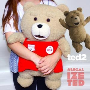 19곰 테드 앞치마 입은 말하는 곰인형 50CM 2종