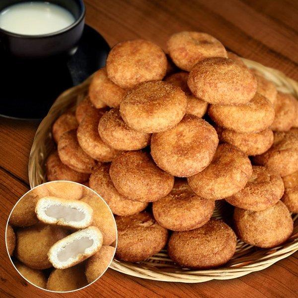 수제 생도너츠(무설탕가루) 500g+500g 당일생산 간식
