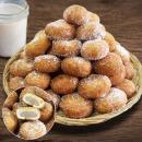 수제 생도너츠(설탕가루) 500g+500g 당일생산 간식