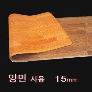원빈산업 양면 요가매트리스 운동 스포츠 추천 16mm
