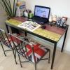 셀러킹 빈티지스틸책상 사무용책상 컴퓨터책상 테이블