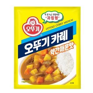 오뚜기 카레 약간 매운맛 1kg