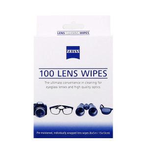 정품 자이스 렌즈크리너 100매 안경렌즈크리너 티슈형