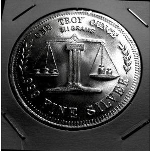 미국 아메리칸 실버 이글 1온스 불리온 은화 기념주화
