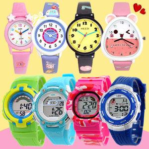 어린이시계 방수 전자시계 아동시계 젤리시계 아동용