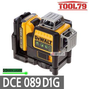 디월트 DCE089D1G 그린레이저레벨기10.8V 2.0Ah배터리