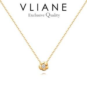 브리앙 18K 로즐린 다이아몬드 목걸이 (금목걸이 여자선물 다이아목걸이)