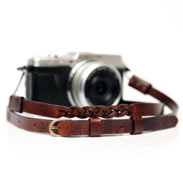 씨에스타 가죽 카메라스트랩 MANO-M CSS