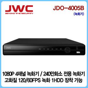 ALL-HD 240만화소 4채널 녹화기 JDO-4005B(1TB 장착)