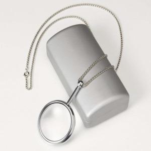 목걸이 돋보기(No.21362-silver)