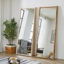 벽거울 트리데코 왜곡없는 원목거울 화장대거울