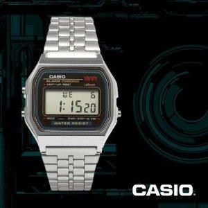 (현대Hmall)카시오 CASIO A159WA-N1DF 빈티지 디지털 메탈밴드