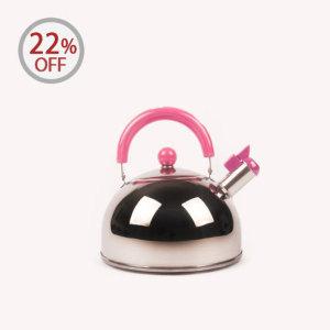 일본 캐디르 후에후키 주전자 (소 핑크)1.8L