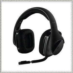 로지텍 무선 사운드 게이밍 헤드셋 헤드폰 G533