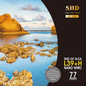 정품/ 벤로  SHD UV L39+H ULCA WMC 77mm
