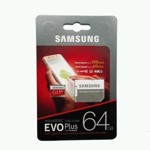 삼성전자 microsSDXC64GB EVO PLUS U3 4K 메모리카드