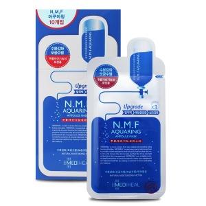 NMF 아쿠아링 앰플 마스크팩 10매 - 상품 이미지