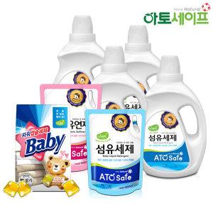 유아용 액체세제/섬유유연제 5.2L(1.3L 4개)