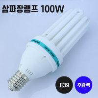 삼파장 램프 100W 주광색 대모갈 작업등 가로등램프