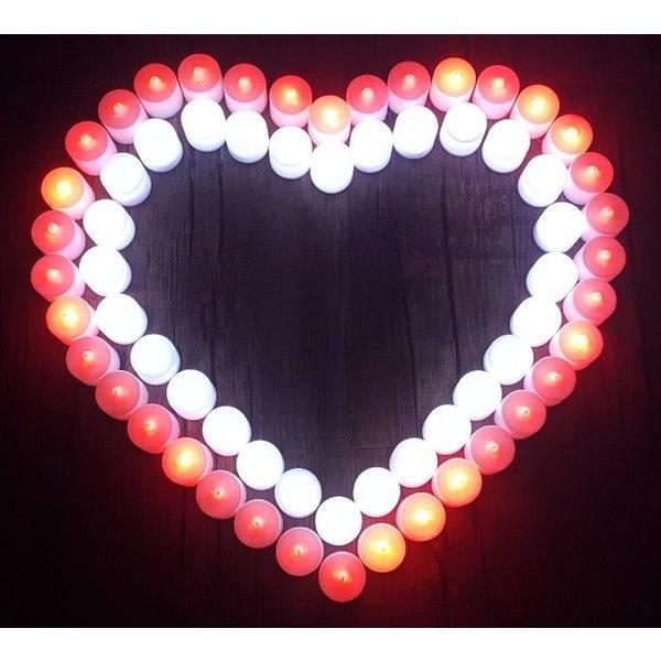 LED 티라이트 촛불 이벤트 전자양초