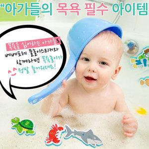 New 베베포레 물놀이스티커 바다숫자친구들/목욕놀이