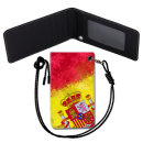 Spain Flag 스페인 국기 목걸이 카드지갑 여행필수품