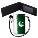 Pakistan Flag 파키스탄 국기 목걸이 카드지갑