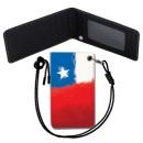 Chile Flag 칠레 국기 목걸이 카드지갑 여행필수품