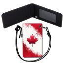 Canada Flag 캐나다 국기 목걸이 카드지갑 여행필수품