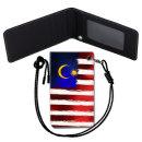 Malaysia Flag 말레이시아 국기 목걸이 카드지갑