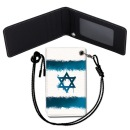 Israel Flag 이스라엘 국기 목걸이 카드지갑