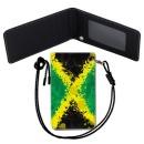 Jamaica Flag 자메이카 국기 목걸이 카드지갑
