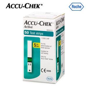 d 아큐첵 액티브 혈당시험지(50매)/당뇨/2101~2204