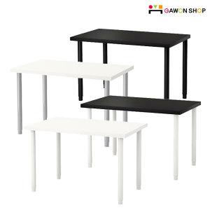 LINNMON 테이블(100X60)+OLOV 길이조절다리