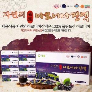 채움식품(名品)자연의아로니아진액/80ml x 60포/