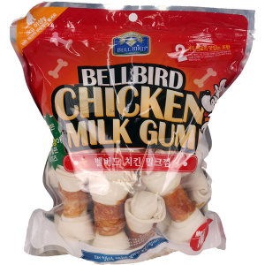 벨버드 애견껌 치킨밀크껌 1kg/2.1g 26개 강아지간식