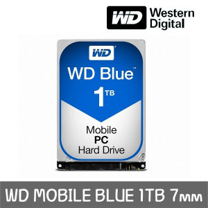 +正品 공식판매점+ WD MOBILE BLUE 1TB 7mm WD10SPZX
