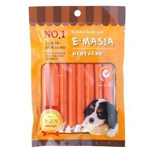 이마시아 소고기 소세지 8P 강아지 간식 스마일배송