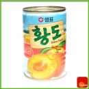 통조림/농산/복숭아/과일 황도/400gx24캔/샘표/Z90