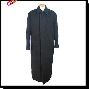 (j2055) M-VIO(엠비오) 남성 비즈니스 블랙톤의 추동용 모직롱 코트 사이즈95