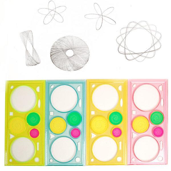 매직써클모양자(1p) 톱니모양자(1p) 모양자 모양그리