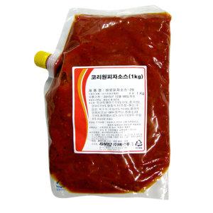 코리원 피자소스 1kg/시카고피자/스파게티/피자/소스