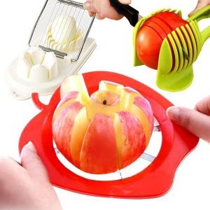 사과 슬라이서 사과 커터기 애플 커팅기 과일칼 채칼