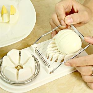 계란 슬라이서 더블형 에그 달걀커팅 에그커터기 과도