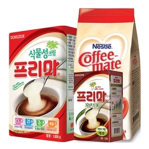 동서 프리마 1kg 프림 크림 커피메이트 원두용전지분