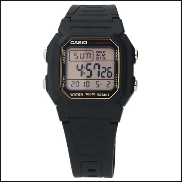 타임플래닛 CASIO W-800HG-9A 카시오 시계 우레탄밴드